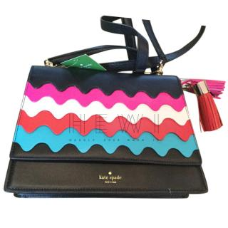 Kate Spade Wavy Flap Shoulder Bag