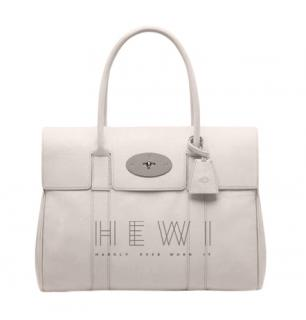 Mulberry Cream Bayswater Tote