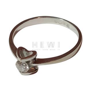 Bespoke 18t White Gold Diamond Solitaire Ring