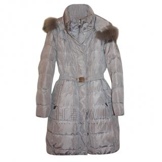 Monnalisa Girl's Hooded Puffer Coat