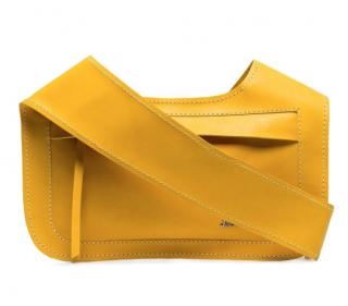 Jacquemus Le Meunier Yellow Crossody Bag