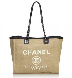 Chanel Small Deauville Tote Bag