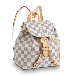 Louis Vuitton Damier Azur Sperone BB Backpack- Sold Out