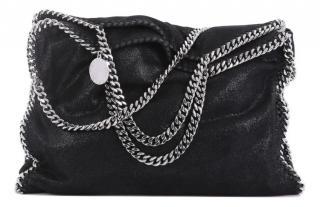 Stella McCartney Black Falabella Shoulder Bag