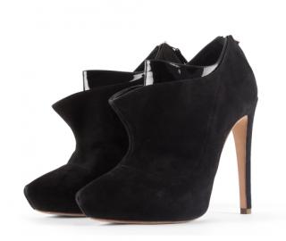 Rupert Sanderson Kit Kat Suede Shoe Boots