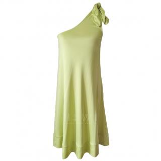 Diane Von Furstenberg Citric One Shoulder Dress