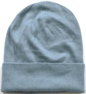 Ralph Lauren light blue cashmere wool hat