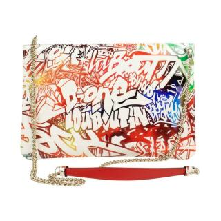 Christian Louboutin Graffiti Loubiclutch chain bag