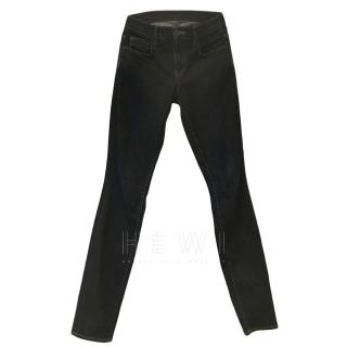 Proenza Schouler Black Slim Leg Jeans