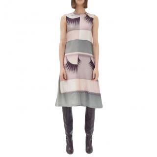 Celine Silk Twill Lashes Dress