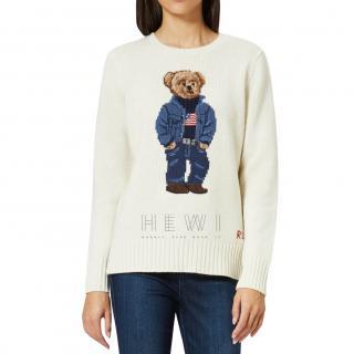 Polo Ralph Lauren Women's Bear Jumper