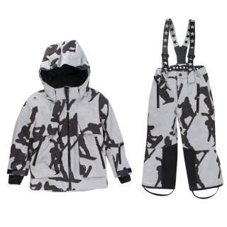 Molo Star Print Kid's 5y Ski Suit