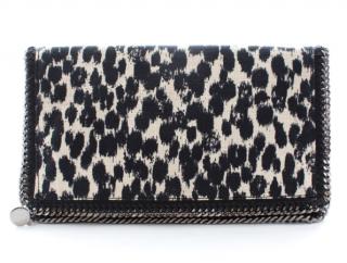 Stella McCartney Falabella fold-over zip clutch