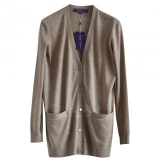 Ralph Lauren Collection Cashmere Blend Cardigan