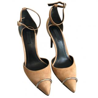 Alexander Wang Suede Pointed Toe Sandals