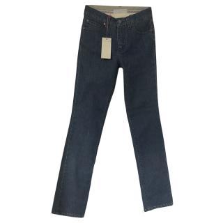 Stella McCartney Blue Straight Leg Jeans