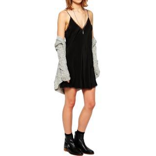 Zadig & Volatire Black Camisole Dress