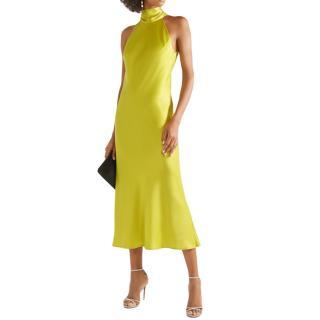 Galvan London Chartreuse Sienna Dress
