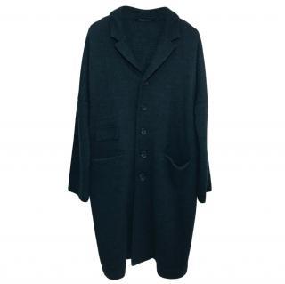 Album Di Famiglia oversize wool blend coat