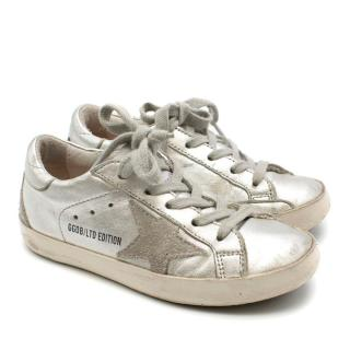 Bonpoint x Golden Goose Metallic Superstar Trainers