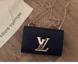 Louis Vuitton Louise Chain Clutch GM