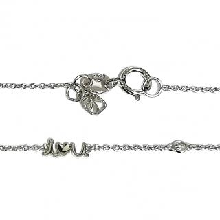Sydney Evan Diamond I Love You Pendant Necklace