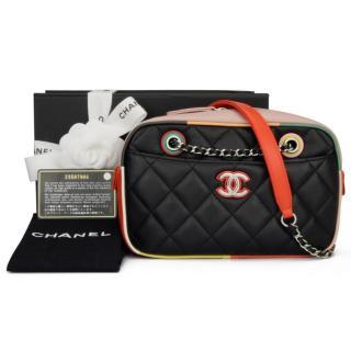 Chanel Cuba Collection calfskin camera case bag