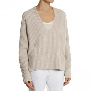 Acne Deborah Oversized Ribbed Wool Sweater