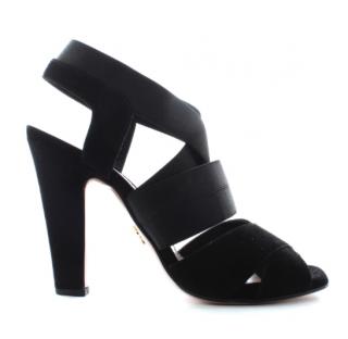 Prada Suede Strappy Sandals