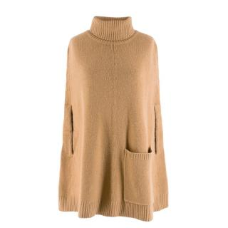 Joseph Roll-neck Cashmere Cape