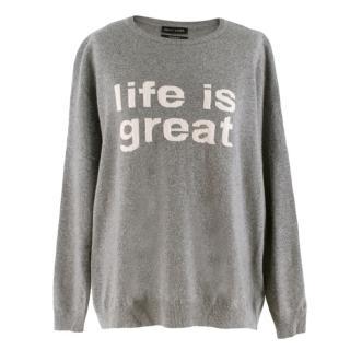 Each X Other Grey Wool Jumper