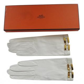 Hermes Vintage Leather Gloves