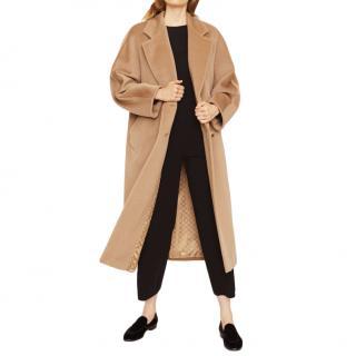 Max Mara Virgin Wool & Cashmere Camel Coat