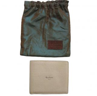 Berluti Beige Textured Leather Wallet