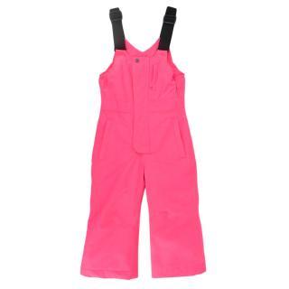 Inside Kids 18-24 Months Neon Pink Ski Suit