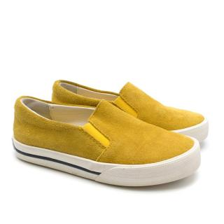 Bonpoint Kid's 27 Suede Skate Shoes