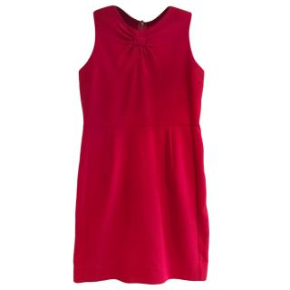 Sandro Red Sleeveless Shift Dress