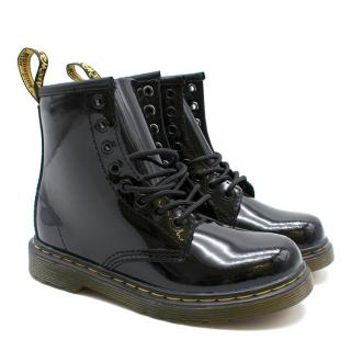 Dr. Martens Kid's Size 10 1460 Patent Boots