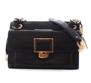 Balenciaga Aliigator Leather Shoulder Bag