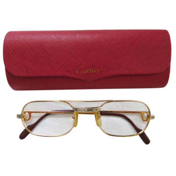 Cartier VIntage Gold Frame Optical Glasses