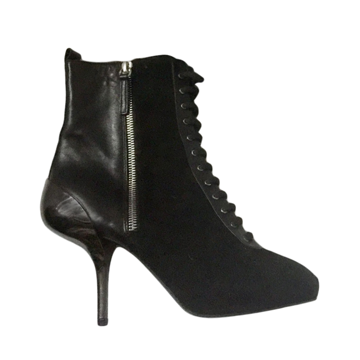 Giuseppe Zanotti Suede & Leather Ankle Boots