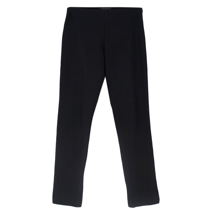The Row Skinny Black Pants