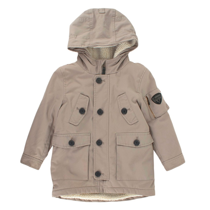 Bonpoint Michigan Fleece Lined Parka