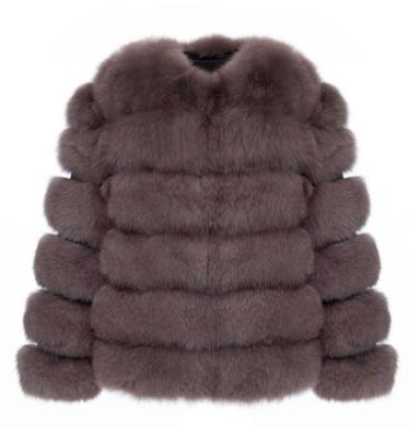 Luxy London 6 in 1 Versatile Fox Fur Coat
