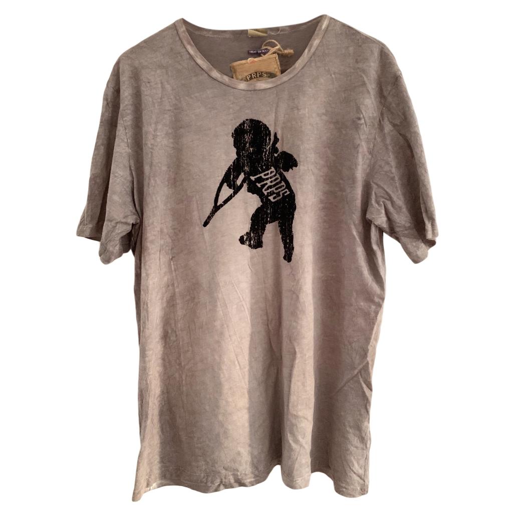 PRPS Washed Grey Cherub T-Shirt