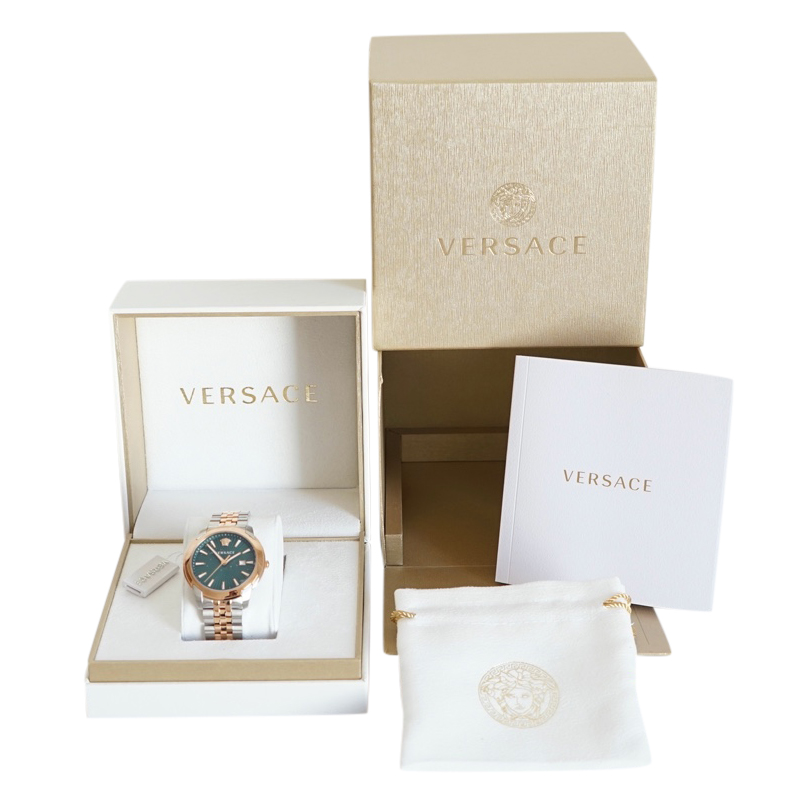 Versace 2-tone V-urban watch.