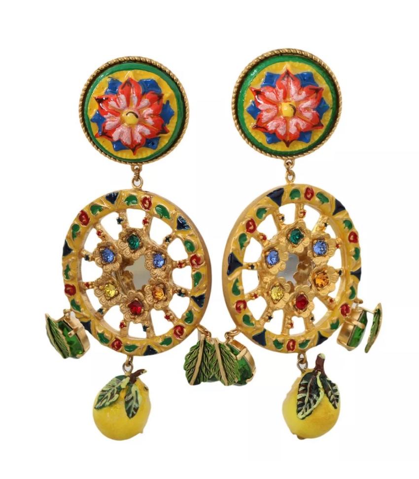 Dolce & Gabbana Sicily Caretto Earrings