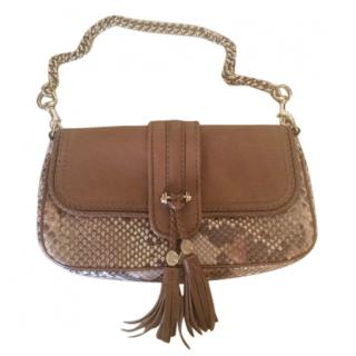 Gucci Marrakech Mini Python Shoulder Bag