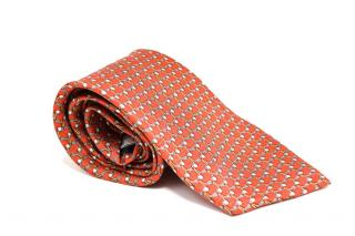 Givenchy Silk Golf Club Print Tie