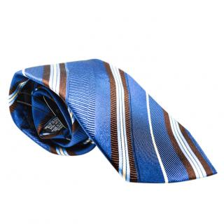 Boss Hugo Boss Silk Blue Printed Tie